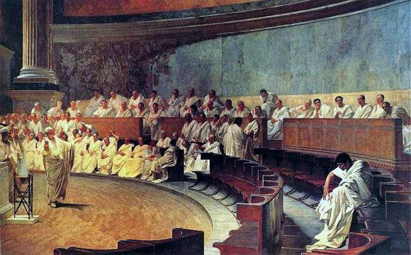Le rhétorique dans l'Histoire