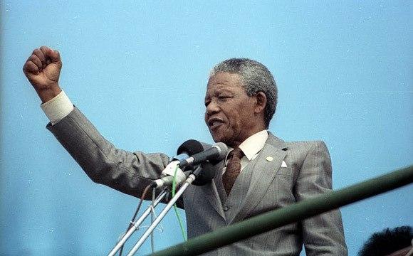 Discours de Nelson Mandela