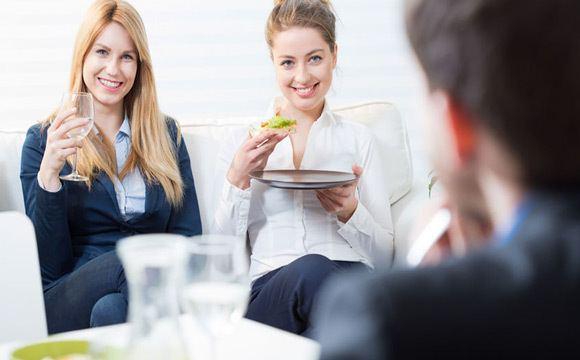Une alimentation healthy comme préparation de votre prise de parole.